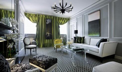 Kích cỡ, màu sắc của bàn ghế phải phù hợp với diện tích không gian của phòng khách