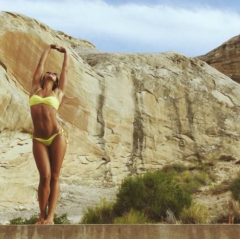 bí quyết sống lành mạnh của Hannah Brofman