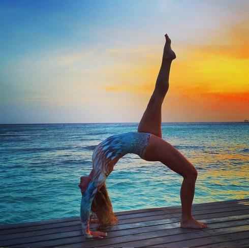Bí quyết sống lành mạnh của @yoga_girl
