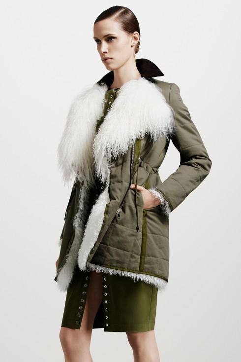 Xu hướng thời trang áo lông cừu ở Altuzarra