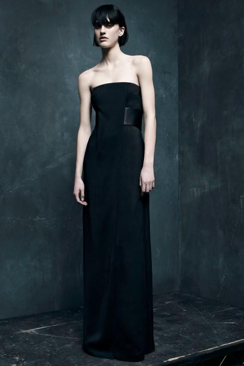Xu hướng thời trang đầm tiệc đen Alexander Wang