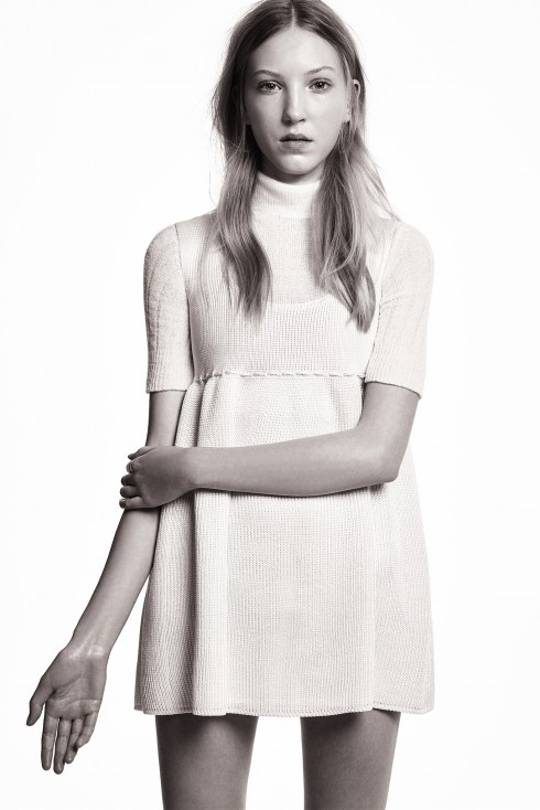 Váy búp bê trong BST Pre-Fall 2015 của Calvin Klein