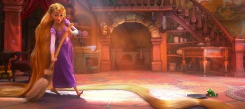 Nhân vật công chúa Rapunzel do ca sĩ nhạc đồng quê Taylor Swift hoá thân