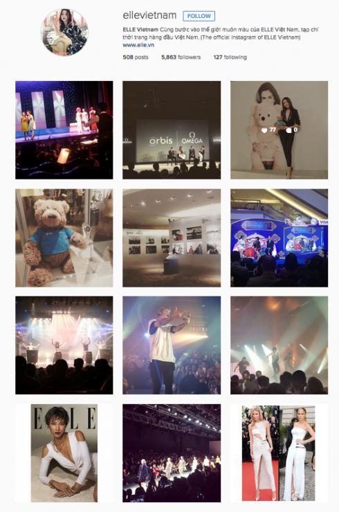 Ellevietnam instagram