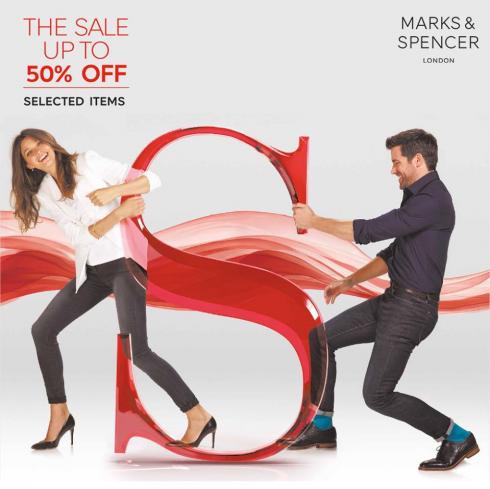 M&S sale 50