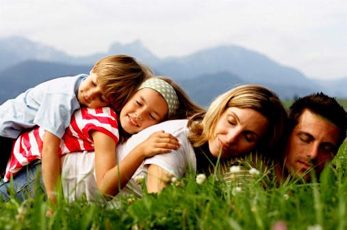 Hạnh phúc gia đình khi tìm ra mặt tích cực của mọi vấn đề