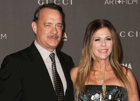 Tom Hanks và Rita Wilson