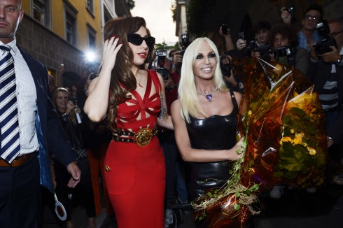Donatella và Lady Gaga
