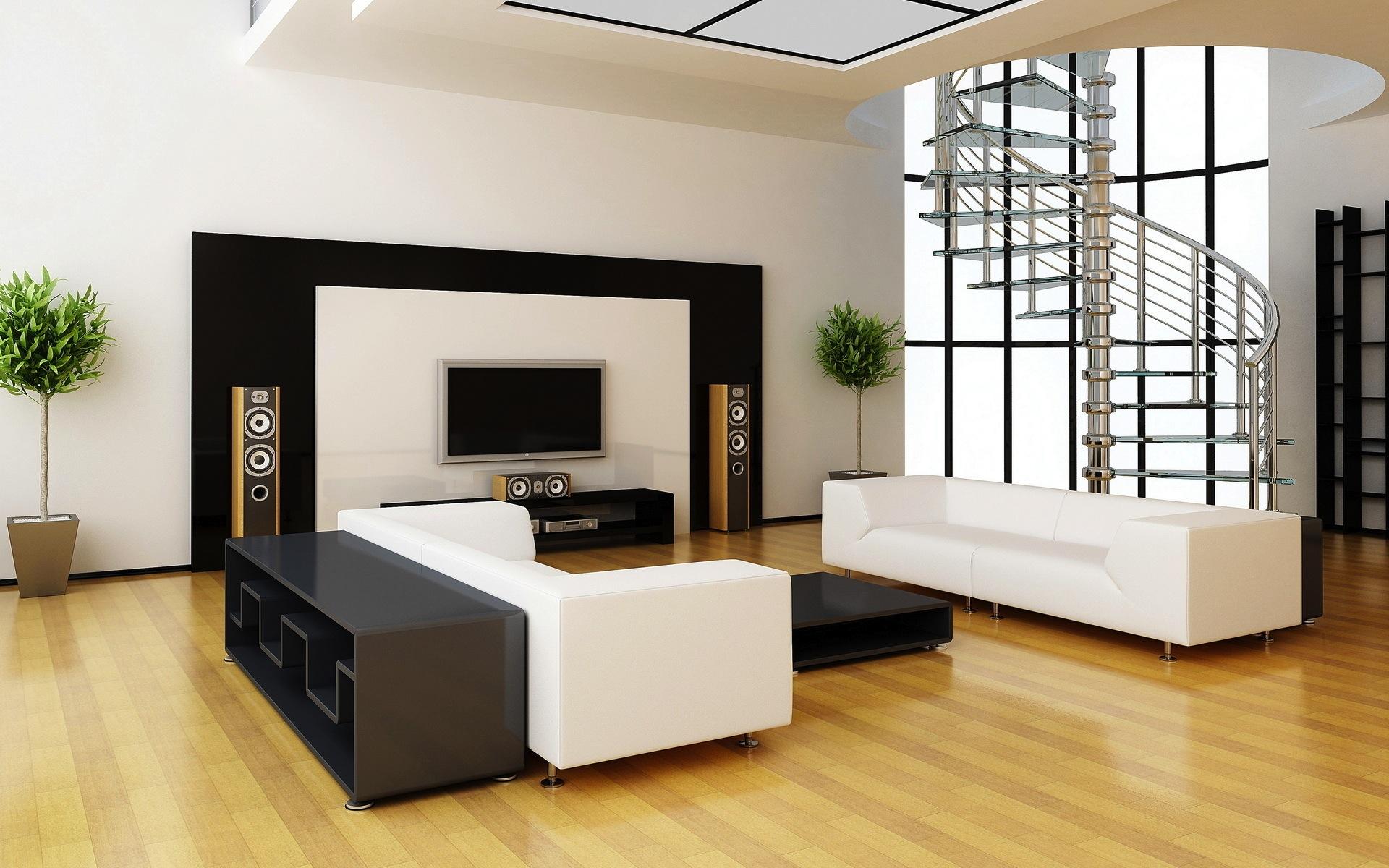 Gợi ý nội thất phòng khách theo phong cách tối giản - ELLE