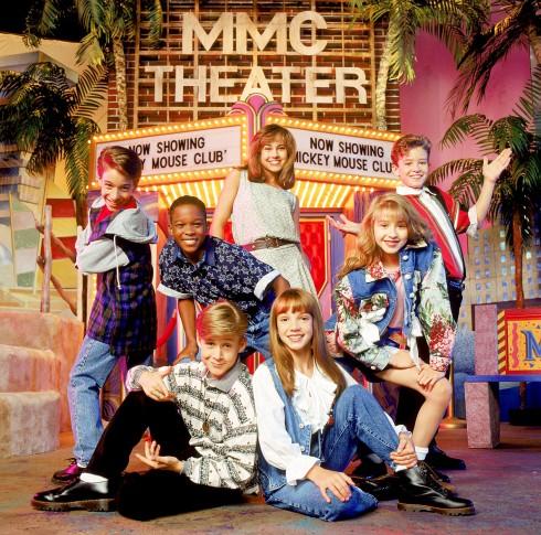 Britney Spears những ngày trong Mickey Mouse Club cùng Nikki DeLoach, Justin Timberlake, Christina Aguilera, Britney Spears, Ryan Gosling, T.J. Fantini, Tate Lynche