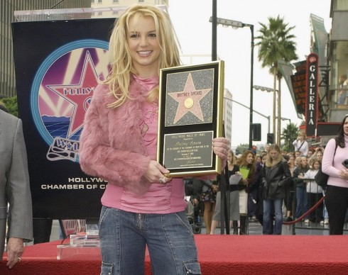 Năm 2003: nhận ngôi sao trên Hollywood Walk of Fame