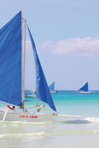 Du lịch Philippines thư giãn tại biển Boracay