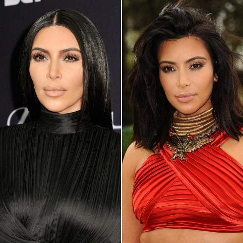 Kim Kardashian cắt mái tóc dài lâu nay để chuyển sáng kiểu tóc lob ngang vai gợn nhẹ trẻ trung hơn