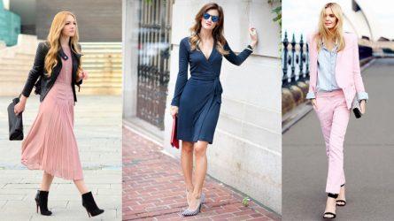 5 cách mặc đồ thời trang công sở đẹp và gợi cảm