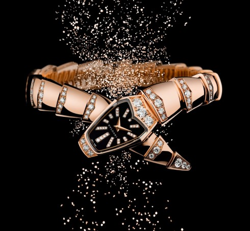 Dong ho nu dep Bulgari Serpenti Jewellery-Watch