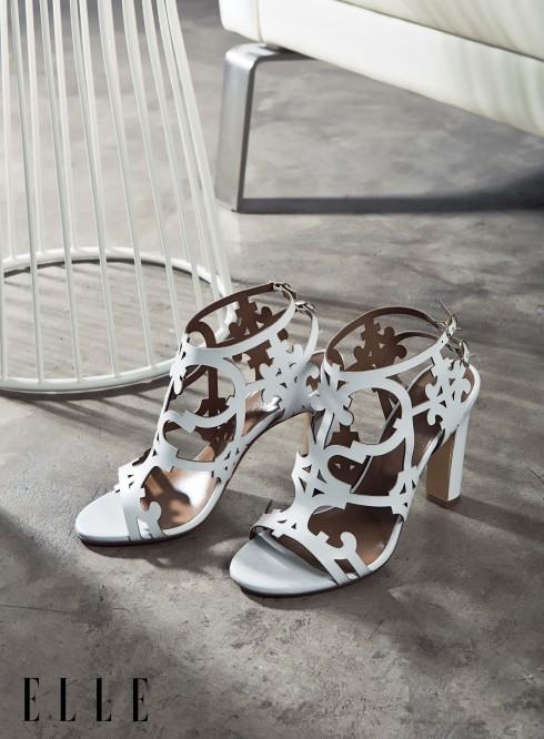 Giày sandals cao gót HERMÈS