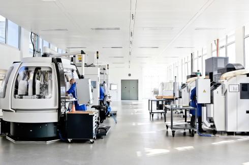 Phòng sản xuất đồng hồ Chopard ellevn