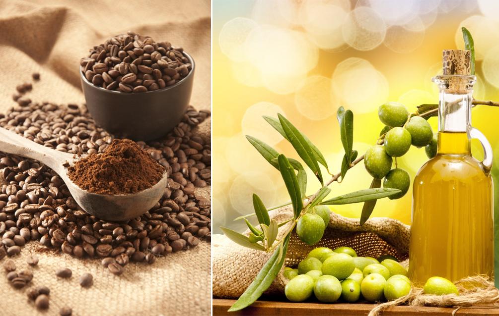 Cách chống lão hóa với dầu oliu, chanh và cà phê dành cho da mặt