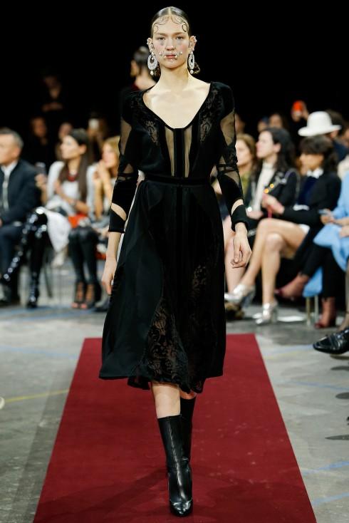 BST thu đông 2015 Givenchy