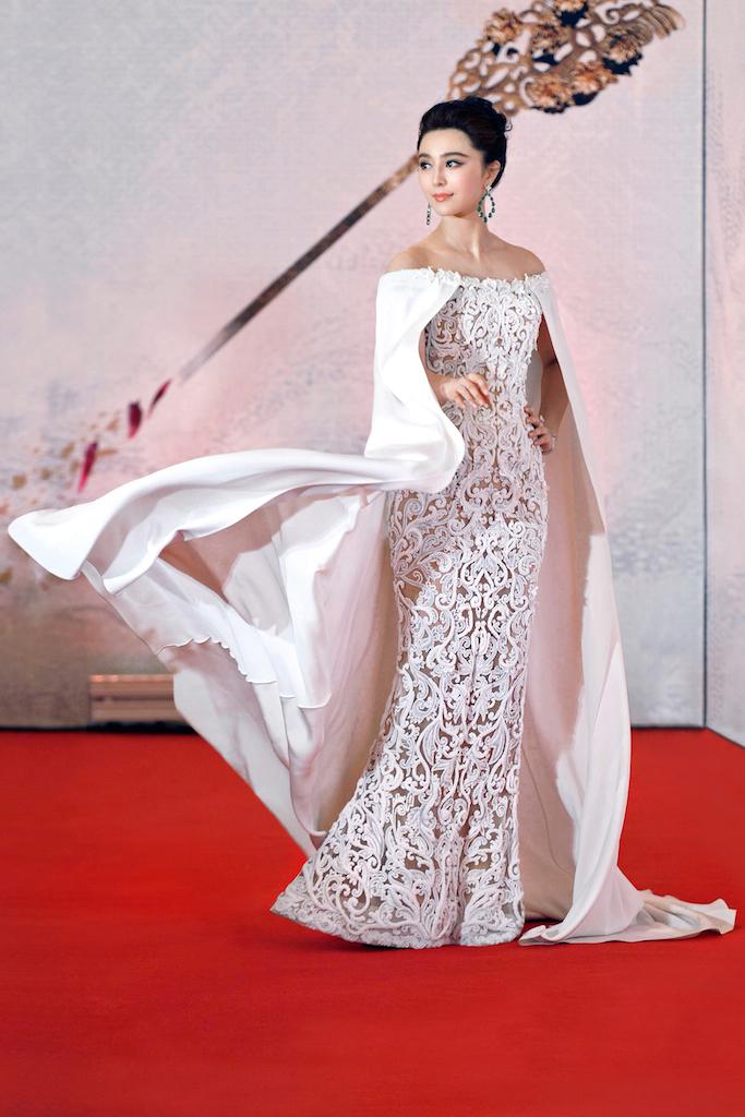 Phạm Băng Băng nổi bật trong ngày công chiếu phim Lady of the dynasty