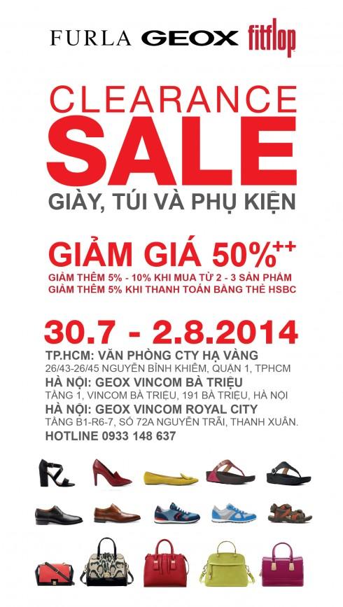 HV Clearance Sale 2015