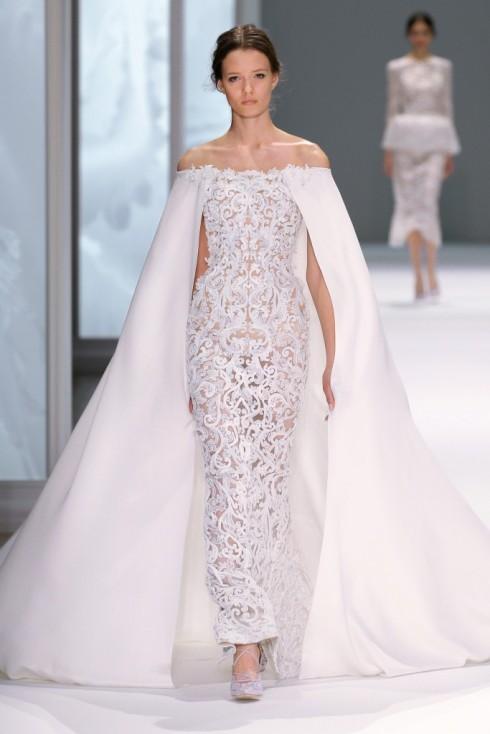 Trang phục thuộc bộ sưu tập Haute Couture Xuân-Hè 2015 của thương hiệu Ralph & Russo