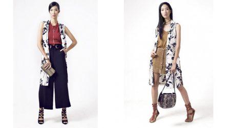 1 món đồ 2 phong cách: Áo khoác nữ dáng dài