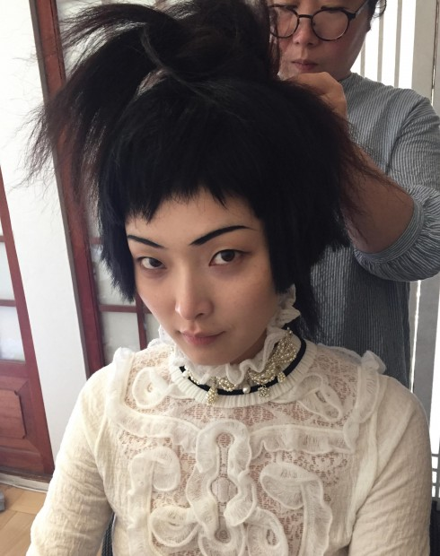 Người mẫu  Sung Hee Kim
