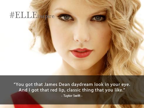 Những câu nói hay về son môi tốt - Taylor Swift
