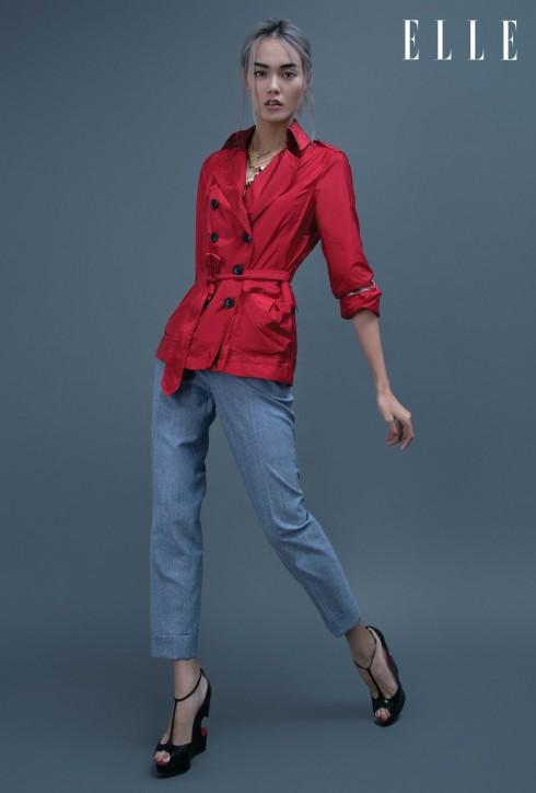 Trang phục Burberry Prorsum, Trang sức Versace, Giày Christian Louboutin