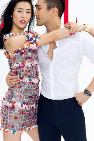 "Gout thời trang của ""vợ chồng ảo"" Choi Siwon & Liu Wen"