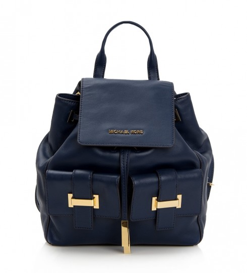 1. Marly Leather Backpack - Michael Kors