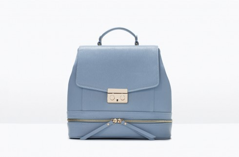 3. Lady Like Packpack - Zara