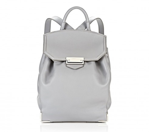 6. Prisma Skeletal Grey Backpack - Alexander Wang