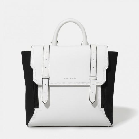 8. Buckle Backpack - Charles and Keith