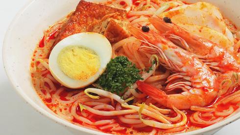 Sigaporean Prawn Noodle