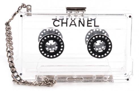Túi xách vintage Cassette của Chanel.