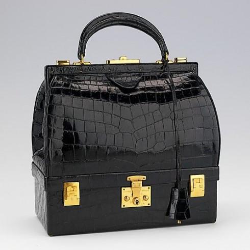 Túi xách vintage Mallette của Hermès được sản xuất từ thập niên 1950