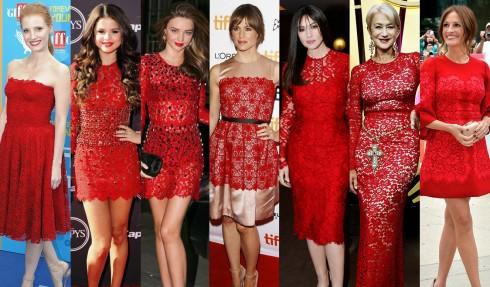Các ngôi sao thể hiện vẻ đẹp rạng rỡ từ khuôn mặt tới trang phục