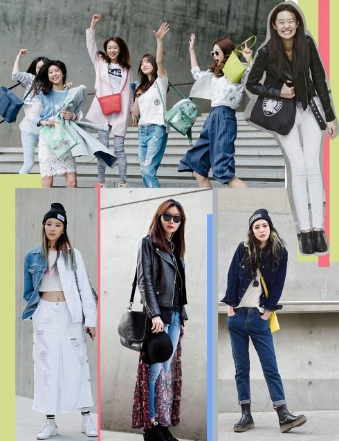 ELLE Style Calendar: Áo thun quần jeans