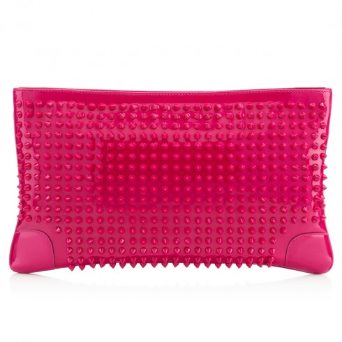 Loubiposh Clutch Grenadine Patent Leather - Christian Louboutin