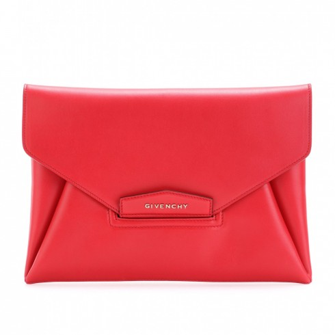 Diagonal Panel Clutch - Givenchy