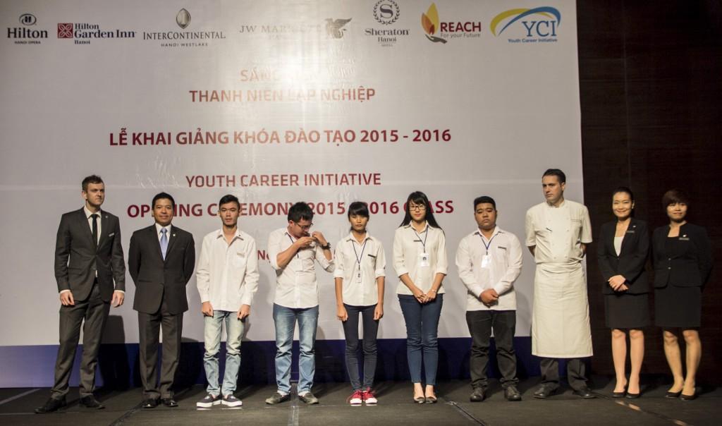 Lễ khai giảng khóa học giúp thanh niên lập nghiệp