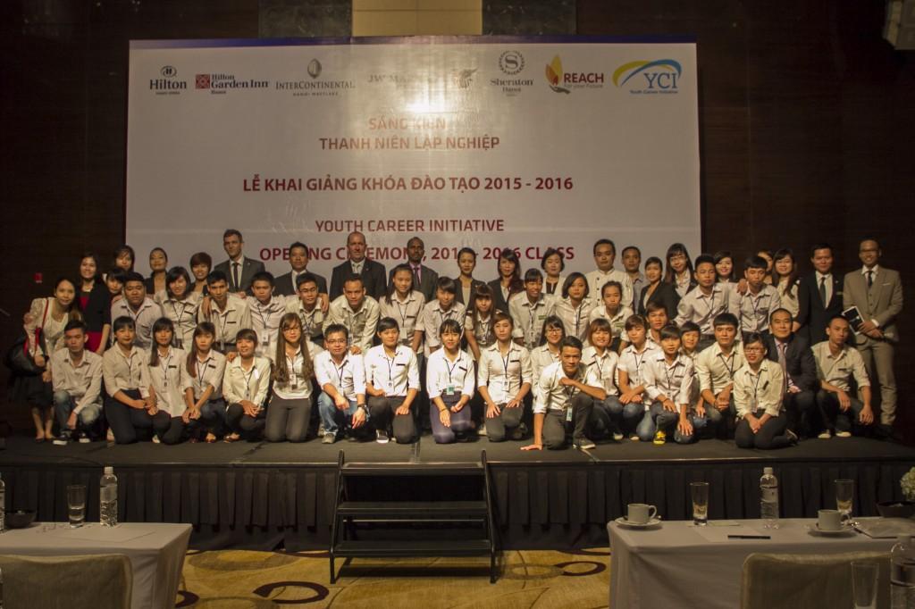 Hơn 30 em thanh niên ham học hỏi đã được nhận hỗ trợ từ chương trình