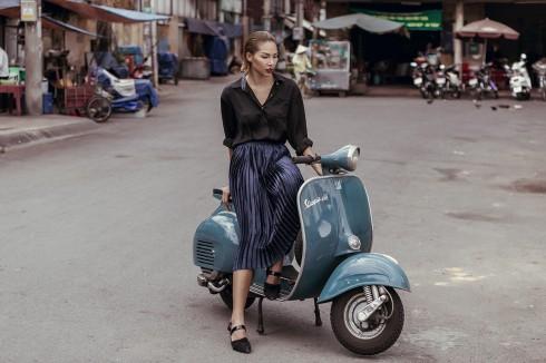 Minh Triệu cũ và mới cùng Lam giữa phố Sài Gòn