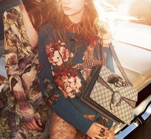 Túi thời trang thu đông 2015 Gucci