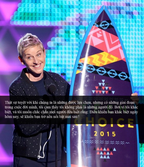 Ellen Degeneres - Teen Choice Awards 3