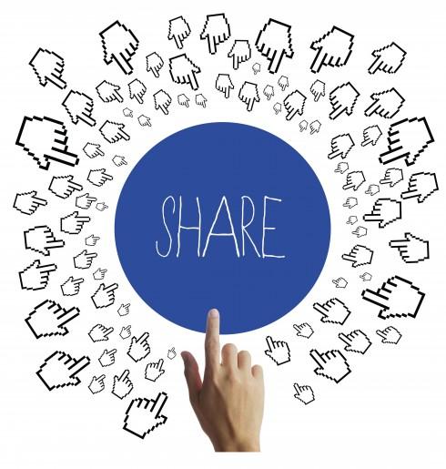 Mạng xã hội - Chia sẻ trên facebook