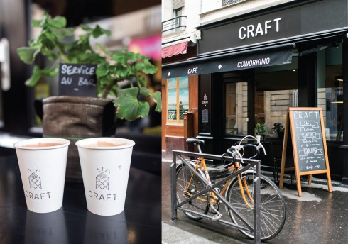 Một trong những quán cà phê yêu thích của người Paris gần khu Canal Saint-Martin