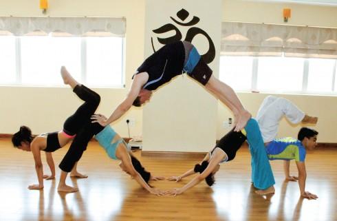 trung tam yoga sns